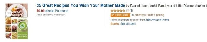 We're Number 1 - Amazon.com bestseller!!!