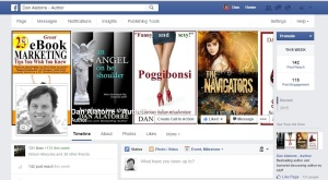 new Facebook Author page