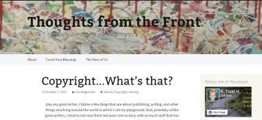 r todd blog