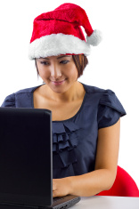 00 santa hat writer