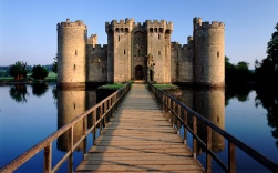 Bodiam Castle, East Sussex, UK