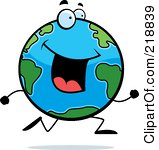 218839-royalty-free-rf-clipart-illustration-of-a-happy-globe-character-running