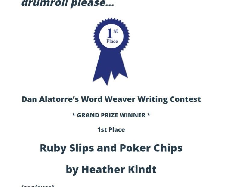 ruby slips winner