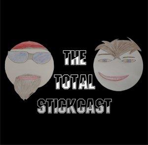 square Total stickcast logo