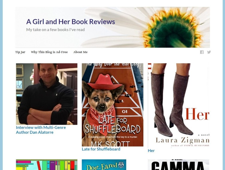 a girl and her book reviews