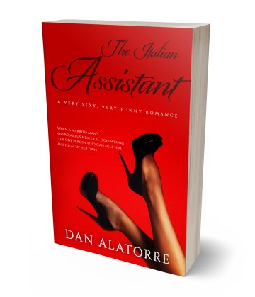 The Italian Assistant 3D paperback cover